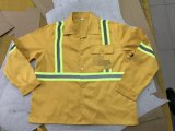 Safety Shirt and Pant with Yellow Reflective Tapes, Safety Suit Workwear