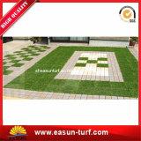 High Quality Interlocking Artificial Grass Tile for Landscape Garden DIY