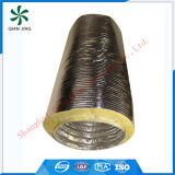 Yellow Fiberglass Insulated Acoustic Flexible Duct