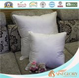 Square Hotel Pillow Polyester Microfiber Down Alternative Cushion