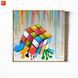 Innovative Original Designed Dice Painting Canvas Art