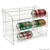 Simple Design Metal Can Display Rack for Supermarket Home Use