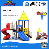 TUV Approved Cheap Used Children Outdoor Small Park Playground Equipment