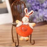 Fat Rabbit Polyresin Fridge Magnet Crafts for Promotion Gifts (YH-RFM049)