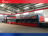 Southtech Continuous Ceramic Roller Flat Glass Tempering Furnace