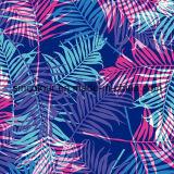 80%Nylon 20%Spandex Leaves Printing Fabric