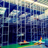 Mezzanine Floor Shelving System for Warehouse Parts Storage