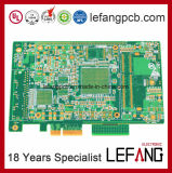 Multi-Layer Enig+Gold Finger PCB Circuit Board for Impedance Module