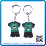 Fashion Souvenir Promotion PVC Key Chains with Keyring