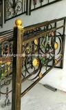 Customized Decorative Wrought Iron Railing