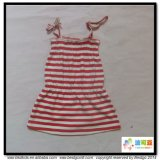 Stripe Printing Baby Wear Gots Baby Clothes Dress