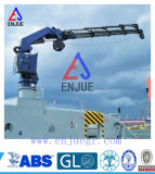 Hydraulic Knuckle Telescopic Boom Marine Crane Ship Deck Crane