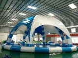 Diameter 20m Round Large Inflatable Pool with Cover (HD-003)