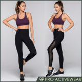 (Trade Assurance) Dry Fit Fitness Sportswear/ Yoga Gear Wholesale Printed Yoga Sets Custom Woman Running Tights