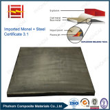 Japan Origin Monel N04400 Clad Carbon Steel Explosive Welding Plate for Petrochemical Pressure Vessels