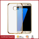 Rubber Plating Side Cell Phone Case for Samsung Galaxy S7 Edge