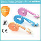 Multi-Color Flat Micro USB Charging Cable for Samsung Mobile Phone