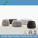 Wide Rattan Round Coffee Table (GP0003)