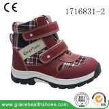 Grace Health Shoes Children Winter Plaid Boots School Boots Ortho Boots Magic Lace Shoes Orthopedic Shoes