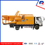 Truck Mounted Concrete Mixer Pump with Batcher and Chassis