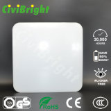 Daylight White 20W Ceiling Lights, Square Flat LED Ceiling Lamp