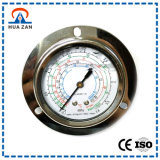 Refrigeration Pressure Gauge Factory Price Stainless Steel Air Conditioning Pressure Gauge