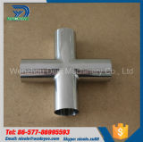 Sanitary Pipe Fitting DIN Cross Fitting Welding End