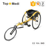 Topmedi Aluminum Manual Racing Sport Wheelchair