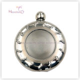 5 Ounce Liquor/Whisky Flask, Stainless Steel Round-Shape Hip Flask
