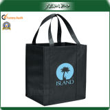 Promotion Handled PP Non Woven Packing Bag for Grocery