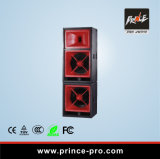 Dual 18inch 3-Way Professional Passive Speaker PA System