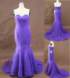 Evening Dress. Full Lace Evening Dress. Mermaid Lace Party Dress
