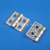 Zn-Alloy Industrial Hinge with Hole 5.5mm for Aluminum Profile
