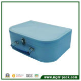 Sweet Blue Paper Chocolate Packing Box with Handle