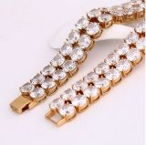 Xuping Fashion 18k Gold Luxuyr Bracelet (72260)