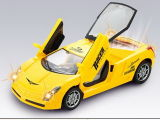 Battery Operated Toy Plastic B/O Car with Music (H0895065)