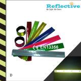 Reflective Slap Bracelets with EN13356 Certificate
