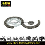 Motorcycle Parts Motorcycle Sprocket and Chain for Italika Forza 125 38t/15t, 428X108L