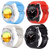 Economic Full View Round Display Smart Watch with Bluetooth