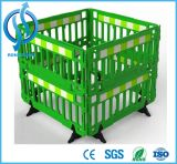 Red/Yellow /Blue/Green Temporary Road Safety Traffic Fence Barriers