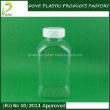 Flip Top Cap 300ml Pet Clear Pill Bottle
