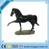 Art Deco Sculpture Horse Stand Pose Resin Statue