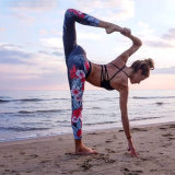 High Quality 88% Polyester 12% Spandex Yoga Leggings 3041