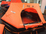 Ec and CCS Approved Throw Over Type Inflatable Life Raft