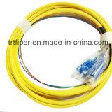 4 Core Sm Sc/Upc Fiber Pigtail 1m