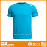 Men′s Sports Running Dry Fit Polyester T-Shirt