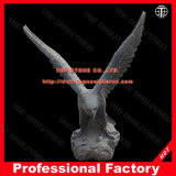 Eagle Marble Animal Statue Marble Sculpture for Garden Decoration