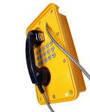 Tunnel IP66 Standard Vandal Resistant LCD Waterproof Phone