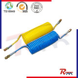 Single & Dual Layer Coiled Air Hose for Truck and Trailer