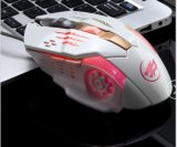 Full Size Ergonomic Design Wired Mice Gaming with 6 Buttons (M-65-1)
